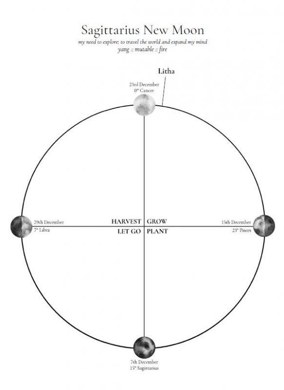Lunar Journal ⋆ Personal Transformation Tracker ⋆ Priestess Your Life