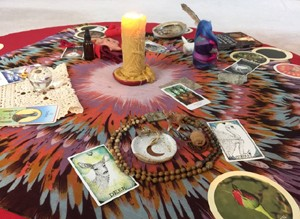 Priestess Your Life altar 1