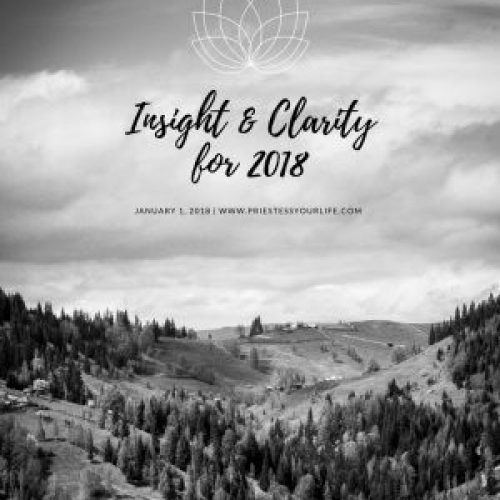 Insight & Clarity for 2018